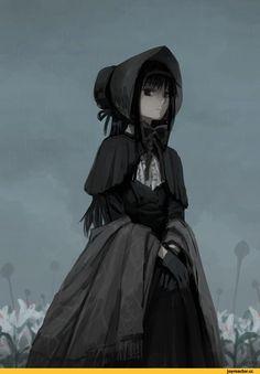 BloodBorne,Dark Souls,фэндомы,Mahou Shoujo Madoka Magica,Puella Magi Madoka Magica, Madoka Magica, Мадока,Anime,Аниме,Akemi Homura,Homura Akemi,Plain Doll,Кукла,BB персонажи,silverxp,crossover