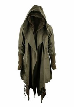 Modern Cloak for the Spring. Makes me think of post-apocalyptic games