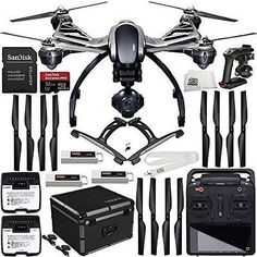 A completion level of ready-to-fly (RTF) means this version of the Typhoon Quadcopter with Camera from Yuneec comes factory-assembled and that a ) Robotics Projects, Robotics Engineering, School Of Engineering, Drones, Uav Drone, Quad, Selfies, Robotics Competition, Selfie