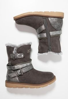 Stiefelette - grey Boots, Winter, Fashion, Dark Brown, Get Tan, Leather, Crotch Boots, Winter Time, Moda