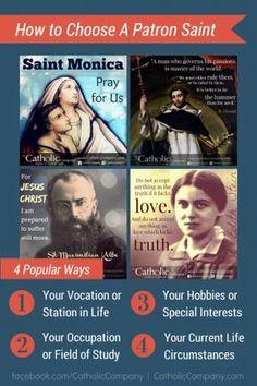 How to Choose a Patron Saint