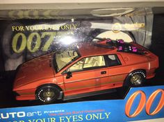 AUTOart Lotus esprit Turbo James Bond 007 1/18 FOR YOUR EYES ONLY RHD RARE! #AUTOart #Lotus