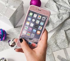 iPhone Wraps - Glitter Rose Pink love this!