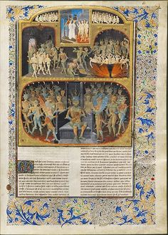 History of Merlin Hell and the Council of Demons Angers, circa Roi Arthur, King Arthur, Merlin, First Knight, Medieval Paintings, Medieval Life, Heaven And Hell, Book Of Hours, Name Art