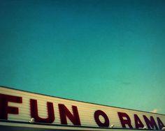 York Beach, Maine.  Childhood memories at Fun O Rama.  Awesome.