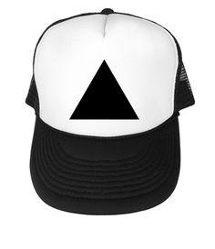 Triangle    Black Trucker Hat 70aae2524f59