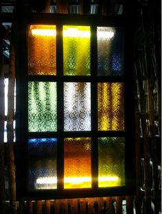 Stained glass at pan de amerikana, marikina