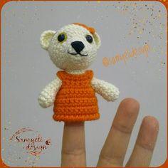 hook size: 2 mm yarn: Gazzal Baby Cotton Eyes: 8 mm some fiber fine black yarn ------------------------- HEAD : worked in rou. Crotchet Patterns, Crochet Amigurumi Free Patterns, Crochet Dolls, Free Crochet, Pen Toppers, Puppet Patterns, Back To School Gifts, Stuffed Toys Patterns, Crochet Animals