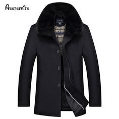 2018 The New Winter Coat Fur Collar Men Woolen Coat Middle-aged Male Turn-down Collar Wool & Blends Overcoat D170 http://thegayco.com/products/2018-the-new-winter-coat-fur-collar-men-woolen-coat-middle-aged-male-turn-down-collar-wool-blends-overcoat-d170?utm_campaign=crowdfire&utm_content=crowdfire&utm_medium=social&utm_source=pinterest