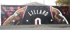 Dame Mural in Portland ⌚ | Bleacher Report
