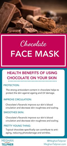Chocolate Fudge | Antioxidant Rich Face Mask Recipe