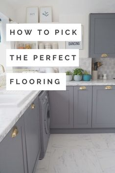 This Handy Tool Will Help You Pick The Perfect Flooring - We Love Home New Interior Design, Interior Stylist, Best Flooring, Kitchen Flooring, Hygee Home, Scandi Home, Small Tiles, Love Home, Simple Colors
