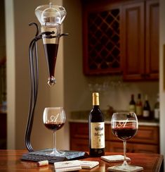 The Gemini RoJaus is truly unique, beautiful, and a great conversation piece.   http://www.winedecanterworld.com/project/unique-wine-decanter/ #wine #decanter #WineDecanter