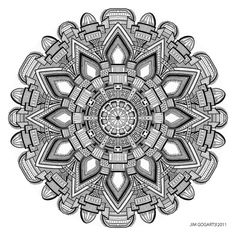 Mandala drawing 29 by *Mandala-Jim on deviantART