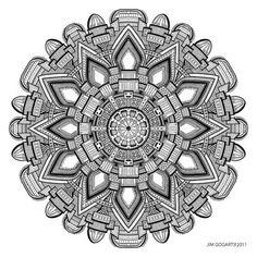 Mandala drawing 29 by *Mandala-Jim on deviantART