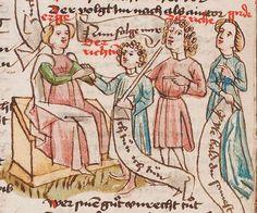 Wolfenbüttel, Herzog August Bibliothek,  Thomasin <Circlaere>   Welscher Gast (W) — Süddeutschland, 3. Viertel des 15. Jhs. Cod. Guelf. 37.19 Aug. 2° Folio 29v