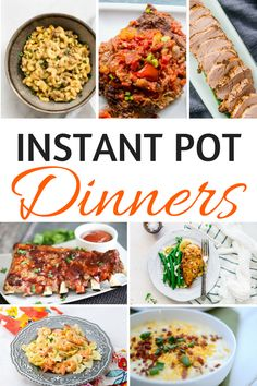 25 Amazing Instant Pot Dinner Recipes To Make Your Life Easier - Looking for some fresh and different Instant Pot Dinner recipes to whip up for your family? Check out this big variety of recipes below that all use your beloved Instant Pot! Best Instant Pot Recipe, Instant Pot Dinner Recipes, Easy Dinner Recipes, Easy Meals, Instant Recipes, Easy Recipes, Instant Pot Pressure Cooker, Pressure Cooker Recipes, Pressure Cooking