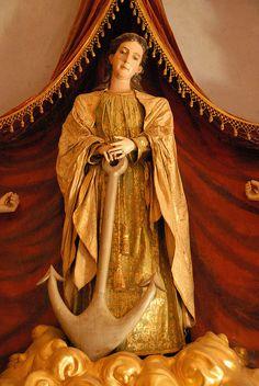 Santa Filomena with Anchor by Ilhuicamina, via Flickr
