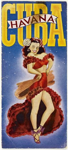 My inspiration for my burlesque alter-ego…lol:) Havana Roja