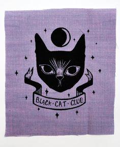 Black Cat Club Patch