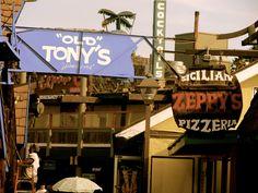 """Redondo Beach, CA.  I won't tell you how many """"Old Tony's"""" bar glasses I have ... shh."""