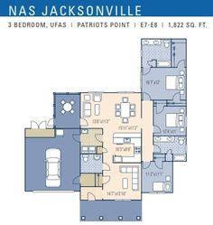 Nas Jacksonville Patriot Point Neighborhood 3 Bedroom