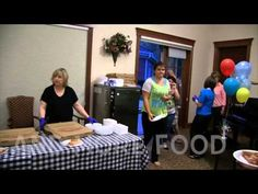 Great footage of the recent employee party...food, friends, movie, and lots of fun!