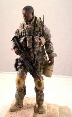 Jonas Blane figure from The Unit Soldier Action Figures, Military Action Figures, Swat Police, Airsoft, Beautiful Figure, Figure Model, Gi Joe, Tactical Gear, Hobbies And Crafts