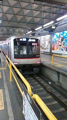 東急東横線渋谷駅。  この姿も残りわずか