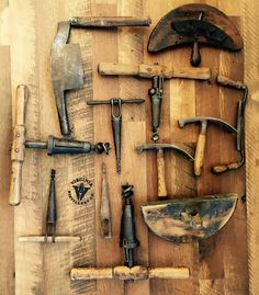 Barrel making tools for our museum coming this spring.