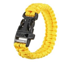 Multi-color Cord Outdoor Quick Release Survival Bracelet With Whistle  Worldwide delivery. Original best quality product for 70% of it's real price. Buying this product is extra profitable, because we have good production source. 1 day products dispatch from warehouse. Fast & reliable...