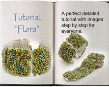 Jewelry Tutorial.... Flora... Bracelet