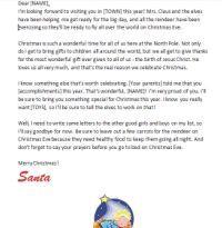 printable christian santa letters santa letter template letter