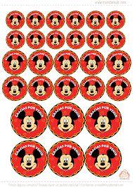 Resultado de imagen para cumpleaños mickey para imprimir