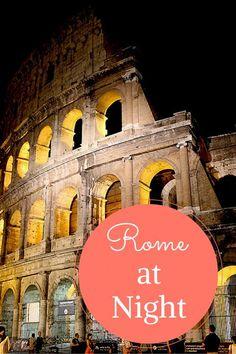 Rome at night - a photo essay - travellousworld.com