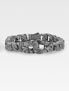 Scott Kay - men's guardian bracelet at South Coast Jeweler #MichaelAnthonyJewellers