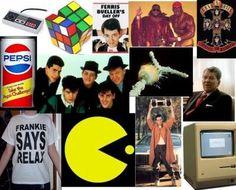 Art 80s Nostalgia Heaven Los 1980 Great Memories My Childhood 1980s