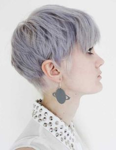 Short Silver Pixie Haircut for 2016 - Styles 7