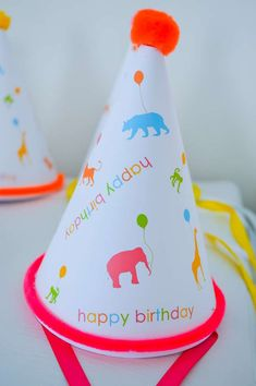 Animal Parade In The Concrete Jungle Birthday Party Ideas