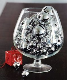 An Arrangement of Silver Bells   Looking for new ways to deck the halls? Check these inspired holiday decorations.