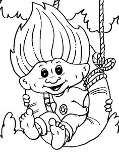 1000 images about Trolls on Pinterest Coloring pages