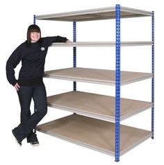 UK Storage racking and industrial shelving for all your warehouse storage needs. Anco storage equipment and steel storage shelving at discount prices. Boltless Shelving, Shelving Systems, Industrial Shelving, Storage Rack, Diy Storage, Storage Shelves, Warehouse Shelving, Ladder Bookcase, Storage Solutions