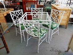 Phyllis Morris Style FAUX BAMBOO Set for the Patio ;)