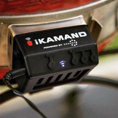 Kamado Joe iKamand Smart BBQ Temperature Controller For Classic Grills Kamado Grill, Kamado Joe, Bbq Grill, Pork Cooking Temperature, Bbq Guys, Pork Rib Recipes, Grill Recipes, Egg Recipes, Ceramic Grill