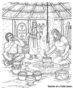 History Printables by Era -  Historical Coloring Pages, Activity sheets, etc. - Celtic, British, Greek, Roman, American, Ancient, Modern
