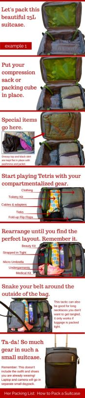 Todo Depende De Ti :) — ¿Cómo empacar tus maletas?