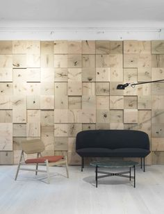 This wall!  A Merry Mishap: Dinesen showroom