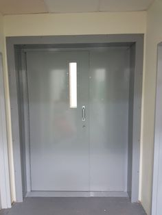 Our heavy duty fabricated security door fitted to commercial premises in Richmond. Steel Security Doors, Security Gates, Security Products, Security Solutions, Clinic Design, Window Shutters, Shop Fronts, Steel Doors, Entry Doors