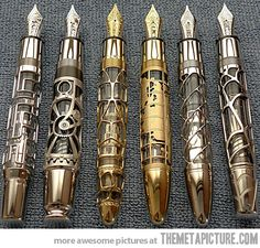 Pens  http://themetapicture.com/media/beautiful-pens-carved-designs.jpg