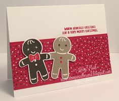 Stampin' in the Sand: Video 1 of 3: Cookie Cutter Christmas Meets One Sh...